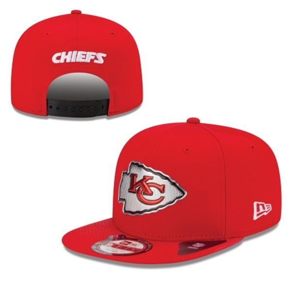 Kansas City Chiefs Snapback Red Hat 1 XDF 0620